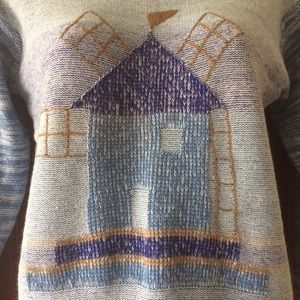 Vintage Sweaters - Vintage knit pullover sweater